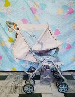 Combi stroller one fold