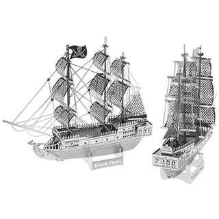 DIY Black Pearl Ship 3D Metal Puzzle