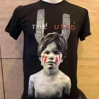 🚚 The used rock t shirt TU
