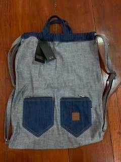 Armani Exchange Denim backpack