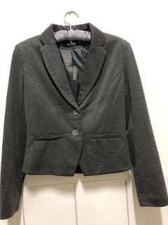 🚚 鐵灰色西裝外套