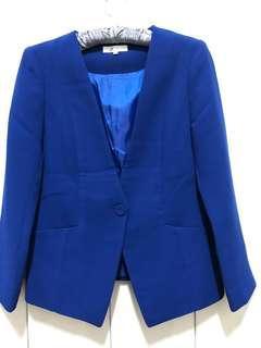 🚚 韓版藍色西裝外套