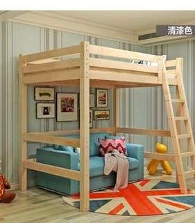Preorder loft bed , bunk bed , layers wooden bed frame
