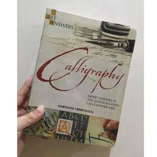 [REPRICED] Calligraphy by Maryanne Grebenstein
