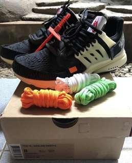 🚚 Nike off white air presto og