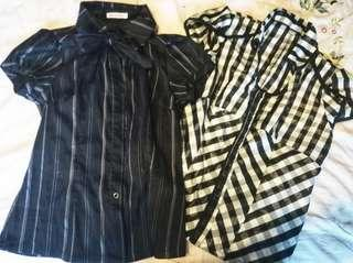 Set of 2 office tops