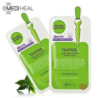 Mediheal tea tree care solution essential mask sheet original korea