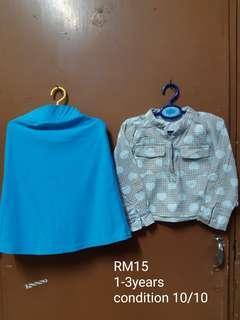 Tops & Skirt