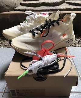 🚚 Nike off white zoom fly us 9