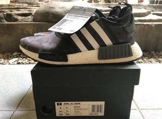 🚚 Adidas Nmd bape black