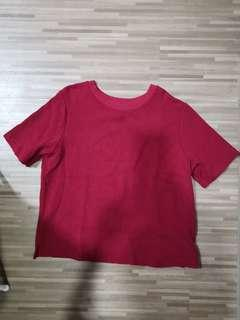Maroon Red Top