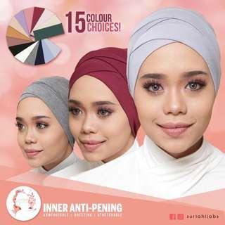 Suria hijab inner scarves
