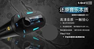 全新汽車用Mp3 ,不需安裝,支援電話/USB/SD 音樂