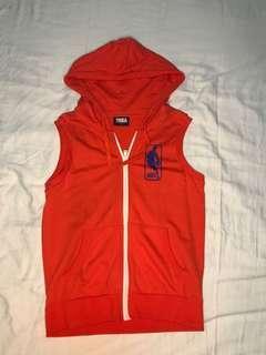 Original NBA orange hoodie