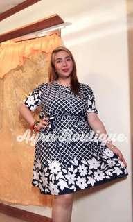 Plus Size Mariel Tie Dress
