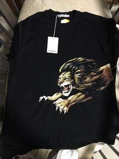 Givenchy  Leo oversized t shirt