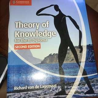 Theory of knowledge textbook cambridge ib diploma