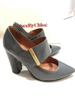 New See by Chloe leather heels / shoes
