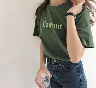 L' amour Tshirt