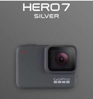 🚚 GoPro Hero 7 Silver (Brand New Unopened)