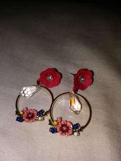 韓國耳環 korean earrings