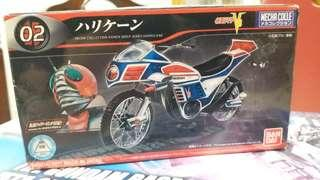 模面超人三號電单車模型