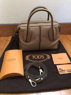 🔥fire sale!🔥Tod's mini D bag sand