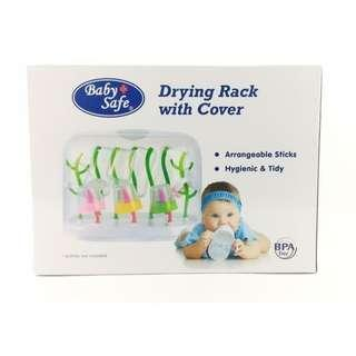 Baby Safe Drying Rack with cover