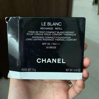 🚚 Chanel refill whitening compact foundation