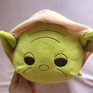 Star war Tsum Tsum stackable plush yoda