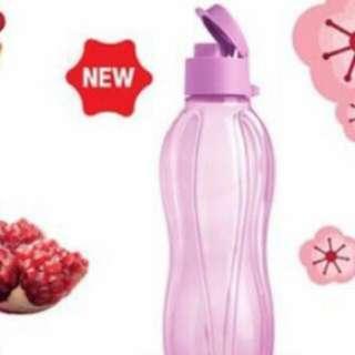 🚚 Tupperware Eco Bottle 500ml Flip Cap
