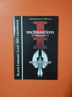 Warhammer 40k Black Library Live 2011 Chapbook NEW
