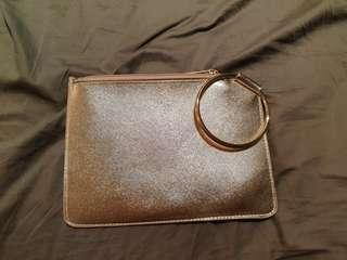 Cotton on gold purse (NEW without tag)
