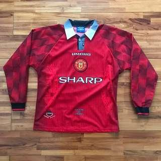 Manchester United Home Kit 96/97