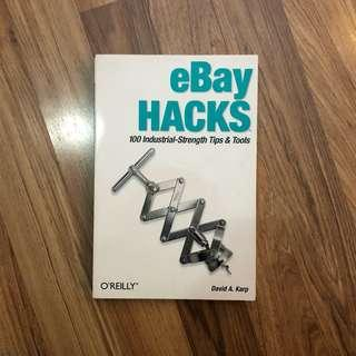 Ebay hacks book 2003 1st edition