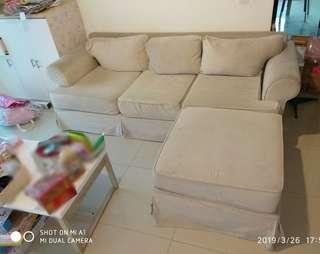 Sofa L 3 Seater + 1