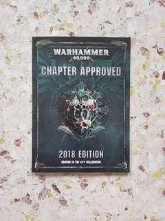 Warhammer 40K Chapter Approved 2018 Brand NEW