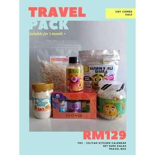 [PROMO] [Homemade Baby Food] Travel Combo For 7m+ Baby