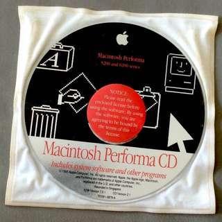 🚚 APPLE MacOS 7.5.1 - Macintosh Performa System CD