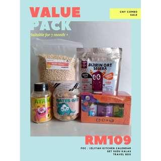 [PROMO] [Homemade Baby Food] Value Pack For 7m+ Baby