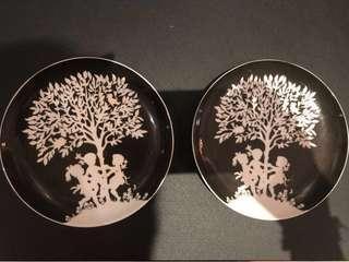 Designer decorative bone china plates