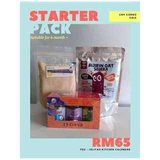 [PROMO] [Homemade Baby Food] Starter Combo For 6 Month Baby