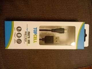 Topcell micro usb 充電線