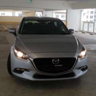 Mazda car for rental
