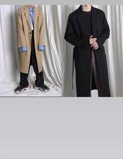 🚚 韓版大衣(西裝材質)