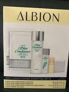 ALBION Skin Conditioner Essential Kit B