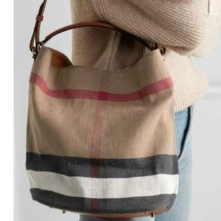 Burberry Canvas Tote