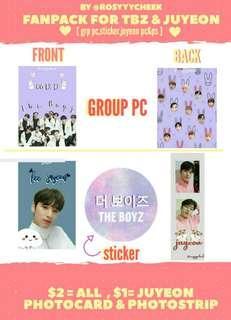 The Boyz & Juyeon Fanpack!!!!