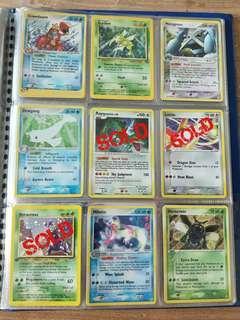 Pokemon Cards - Rare Holo 2
