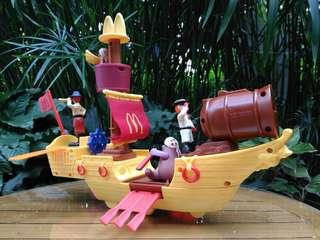 Happy Meal McDonald's Toys: Pirate Ship
